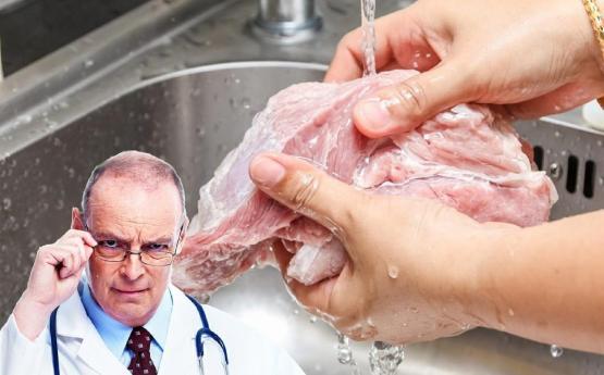 Արդյո՞ք պետք է եփելուց առաջ միսը լվանալ․ Այս սխալը բոլոր ենք անում, բժիշկները նախազգուշացնում են