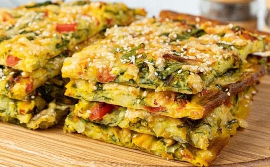 Համեղ և օգտակար բանջարեղենային բլիթներ, որոնք պատրաստվում են շատ արագ