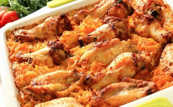 Ձեզ ենք ներկայացնում հավով և բրնձով փլավի ամենահամեղ բաղադրատոմսը