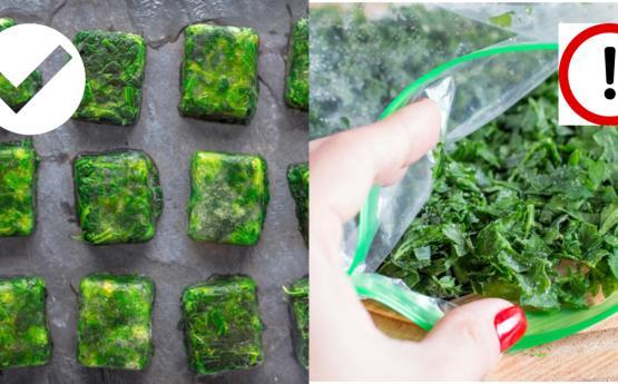 Ինչպես է պետք սառեցնել թարմ կանաչեղենը, որպեսզի նրանց օգտագործել ձմռանը