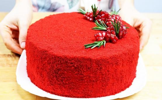 Գեղեցիկ և համեղ տորթ <<Կարմիր վիլվետ>> ․Այսպիսի համեղ տորթի բաղադրատոմս դուք դեռ չեք հանդիպել