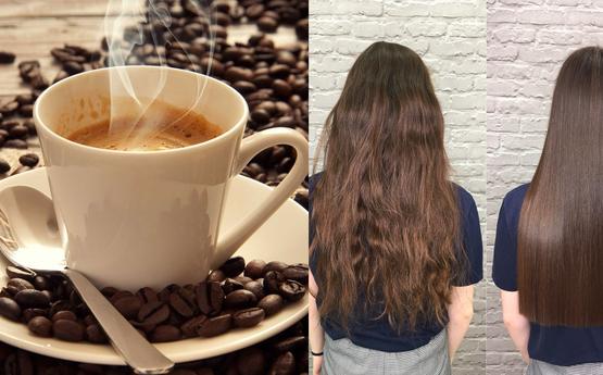 Օգտագործեք սուրճը մազերի որակը և փայլը վերականգնելու համար