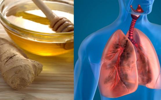 Մեղրով և իմբիրով այս ըմպելիքը բացում է շնչառությունը, հանում ամբողջ խորխը և լավացնում թոքերի աշխատանքը