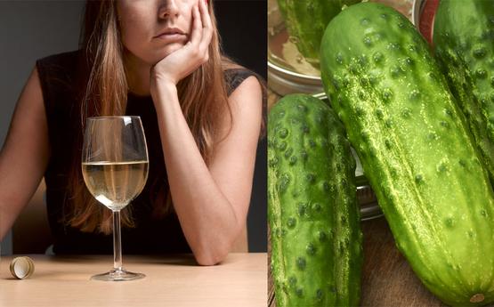 Տեսեք ինչ տեղի կունենա ձեր օրգանիզմում, եթե ալկոհոլ օգտագործելուց հետո վարունգ ուտեք