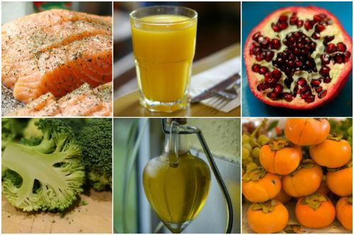 Продукты для очищения артерий и профилактики инфаркта миокарда
