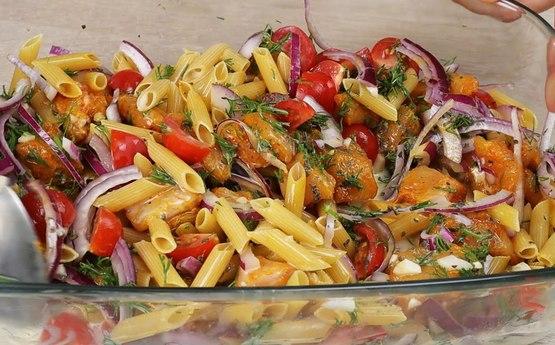Մակարոնը ամառային եղանակով․ Ամառային հրաշալի ուտեստի բաղադրատոմս