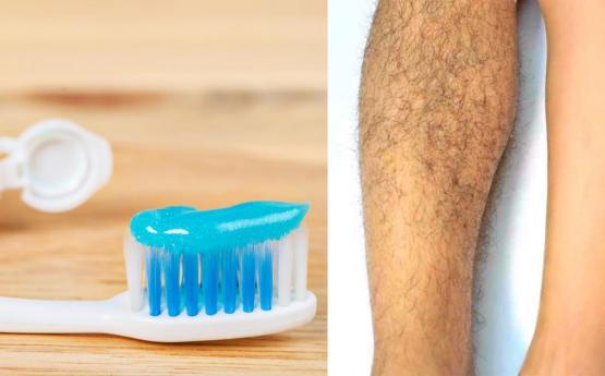 Ատամի մածուկը կօգնի ձեզ վերացնել մարմնում առկա ոչ ցանկալի մազերը ՝ առանց ցավի և շատ հեշտությամբ