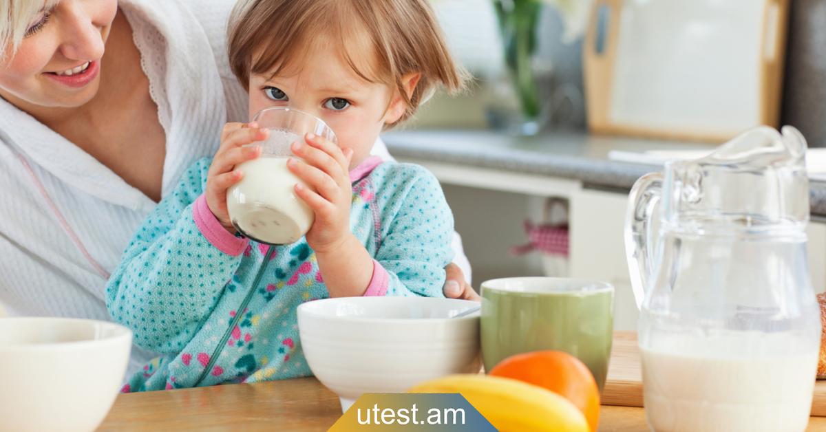 Երեխային քնելուց առաջ կաթ մի տվեք, այն կհանգեցնի առողջական լուրջ խնդիրների
