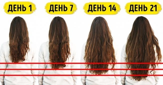 14 способов для природного роста волос